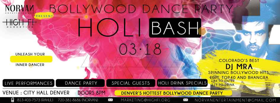 Bollywood Dance Party 2017 Denver